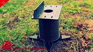 Vis De Fondation Castorama : construire les fondations d 39 une terrasse ou abri de jardin ~ Dailycaller-alerts.com Idées de Décoration