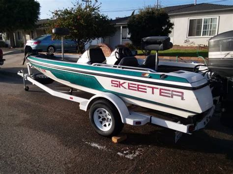 Used Skeeter Bass Boat Trailer by 1995 Skeeter Bass Boat For Sale