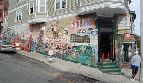 street art  roxbury  boston artist cedric douglas  artery