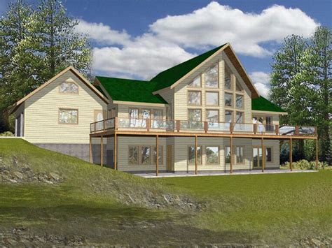 house plans for waterfront homes photo gallery plan 012h 0002 find unique house plans home plans and