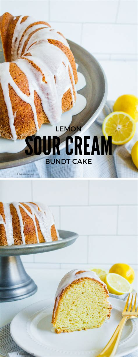 lemon sour cream bundt cake recipe