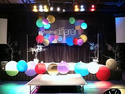 Stage Christmas Simple Church Designs Events Decorations