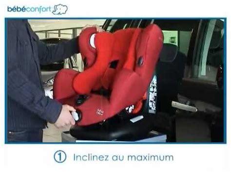 installer siege auto bebe confort installation dos à la route du siège auto groupe 1 neo de