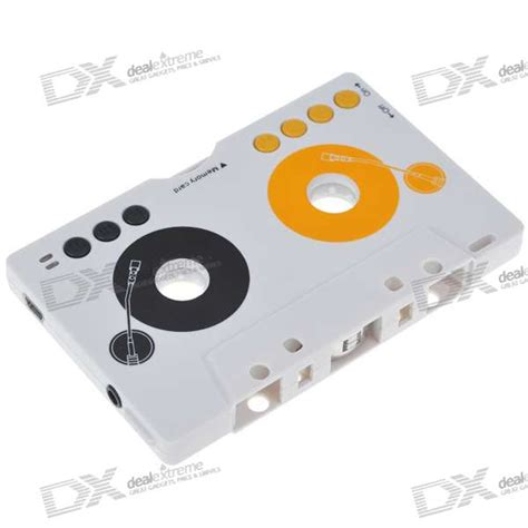 Mp3 Cassette Adapter by Cassette Adapter Mp3 Player For Cars Reads Sd Mmc Free