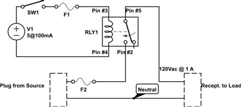 switches wiring  spdt relay electrical engineering