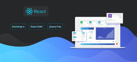 react bootstrap  material design powerful