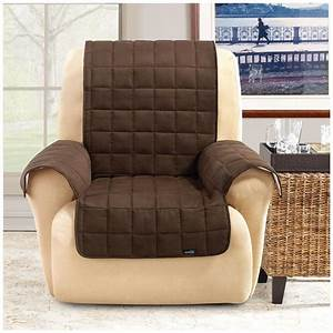 sure fitr waterproof quilted suede wing chair recliner With pet furniture covers for leather recliners