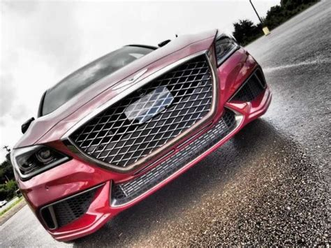 2018 Genesis G80 Sport Front Grille  Cars Release Dates