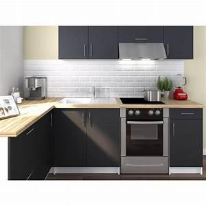 Cuisine D Angle : obi cuisine compl te d 39 angle l 2m80 gris mat achat vente cuisine compl te obi angle 280 ~ Teatrodelosmanantiales.com Idées de Décoration