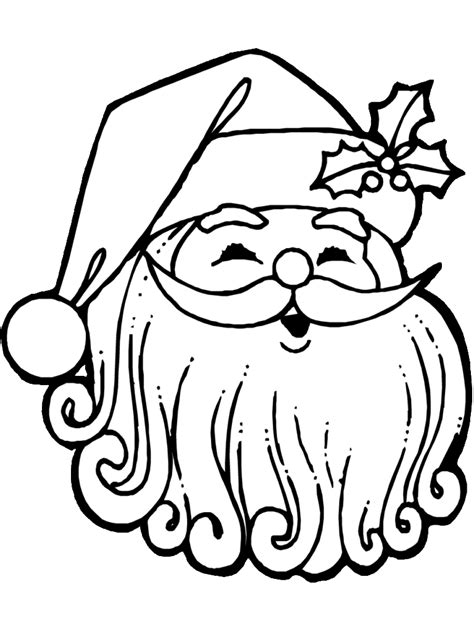 coloring pages christmas coloring page jolly santa