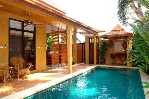 storey bali style house  jomtien house  jomtien