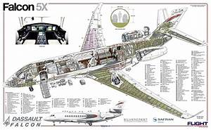 Falcon-5x Cutaway Drawing