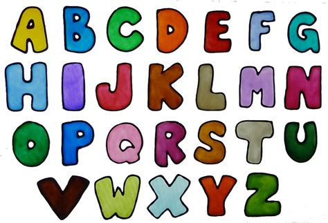 letters in the alphabet alphabet window clings in colors