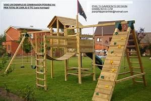 Portique De Jeux : portique de jeux pour enfants cirque et balancoire ~ Melissatoandfro.com Idées de Décoration