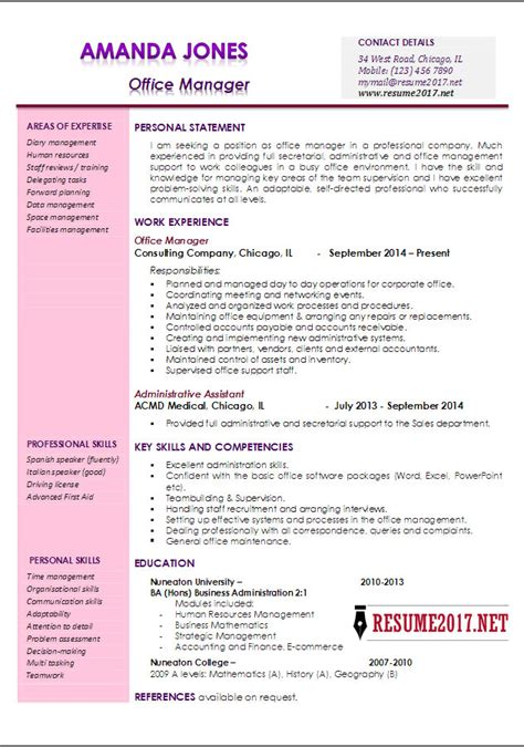 office manager resume template staffing office manager
