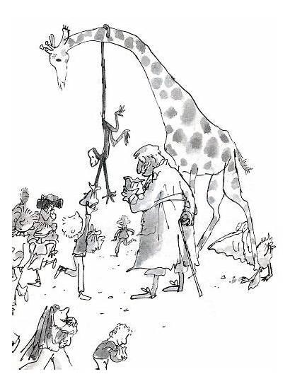 Giraffe Pelly Quentin Blake Roald Dahl Books