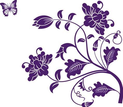 happy walls purple flower floral vines price  india