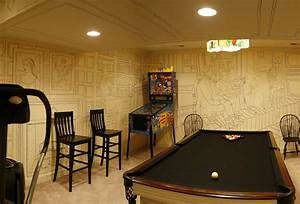 Amazingly cheap and beautiful basement walls decor digsdigs for Wall ideas for basement