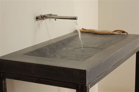 designer bathroom sink concrete alpine sink modern bathroom sinks miami by miano design co