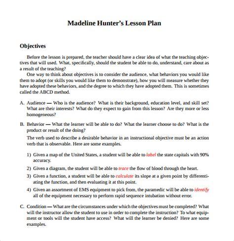 Madeline Lesson Plan Template 12 Sle Madeline Lesson Plans Sle Templates
