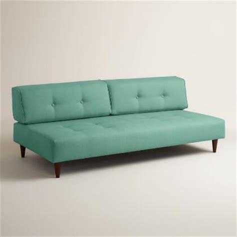 world market sleeper sofa textured woven holman upholstered sleeper sofa world market