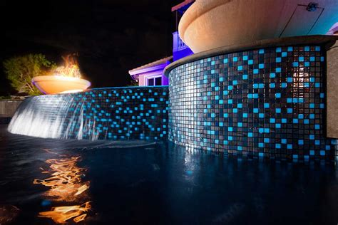 Glow In The Pool Tile by Pools Pit Construction For Vanilla Project