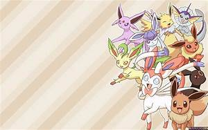 Images Of Eeveelutions With Sylveon Wallpaper