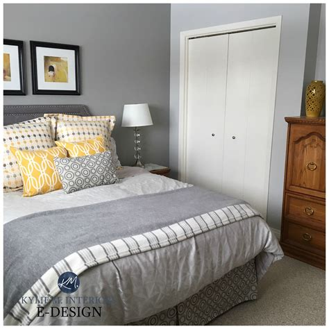 Sherwin Williams Big Chill And Ellie Gray Feature Wall
