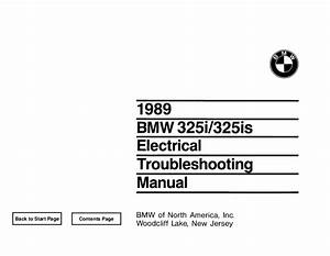 Bmw E30 M3 Wiring Diagram 1987 1991