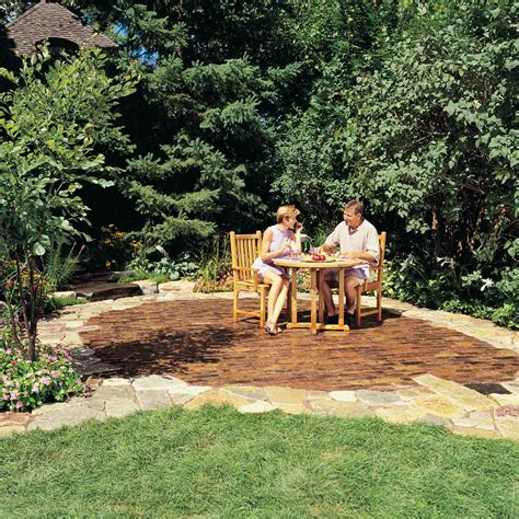 How To Build A Patio by Build A Patio Or Brick Patio