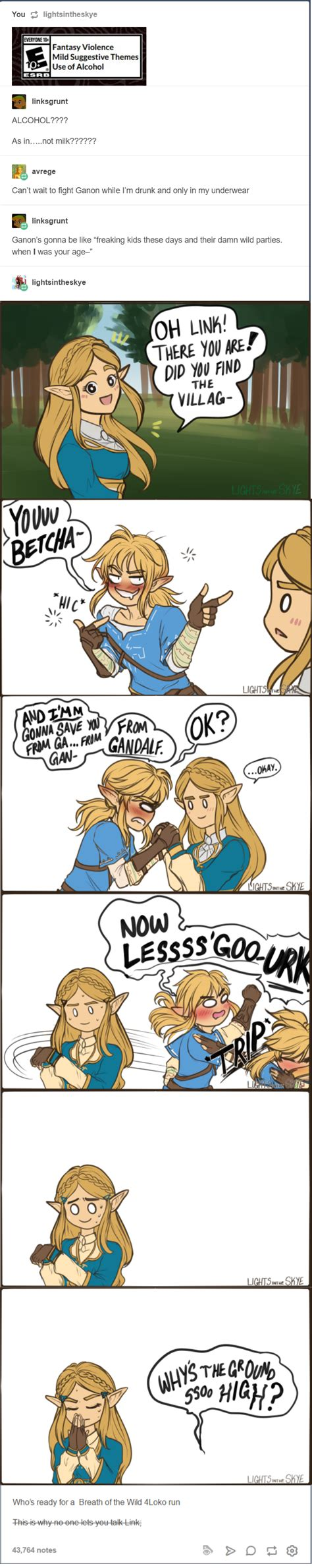 Breath Of The Wild Memes - alcohol breath of the wild alcohol