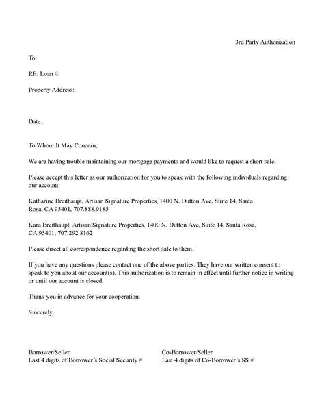 templatesrd party authorization sonoma county