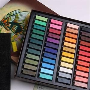 24 48 color soft powder color powder stick color chalk