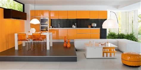 deco cuisine orange décoration cuisine orange