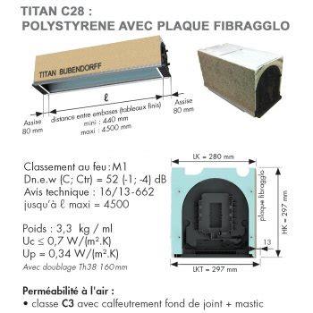 prix coffre volet roulant titan 28 images quelques liens utiles installation thermique