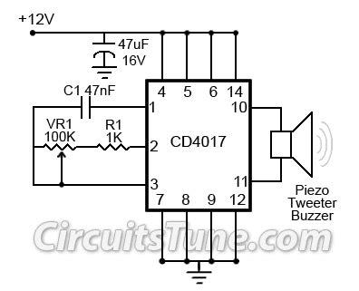 ultrasonic mosquito repeller circuit diagram  cd