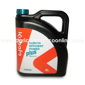 lata  litros aceite motor kubota efficient power