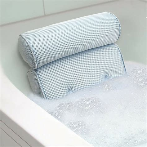 Tub Back by Bath Spa Pillow Cushion Neck Back Support Foam Comfort