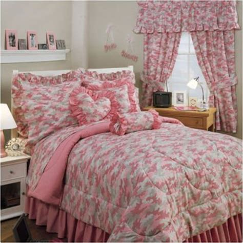 Pink Camo Bedding For Girls  Sheets Sets Full $9221