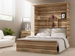 Schrankbett 140x200 Mit Material Aus Holz Nussbaum