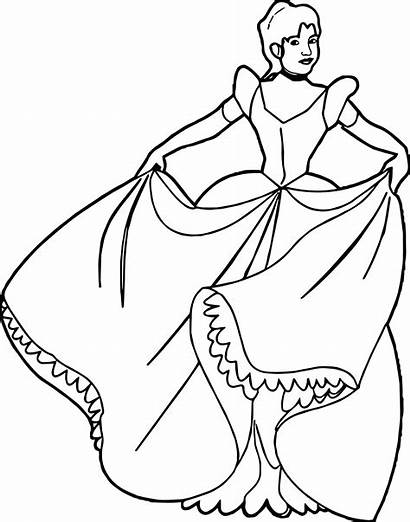 Coloring Princess Pages Wecoloringpage Belle Disney
