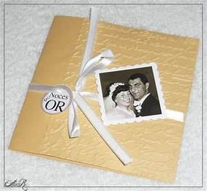 Cadeau Noce D Or : 50 ans de mariage noces d 39 or galerie aur cr ation ~ Teatrodelosmanantiales.com Idées de Décoration