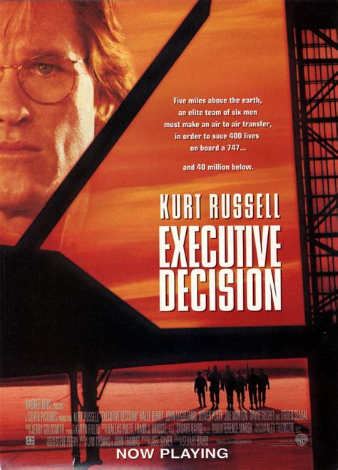 executive decision    extra large  poster