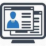Employment Icon Application Job Cv Resume Icons