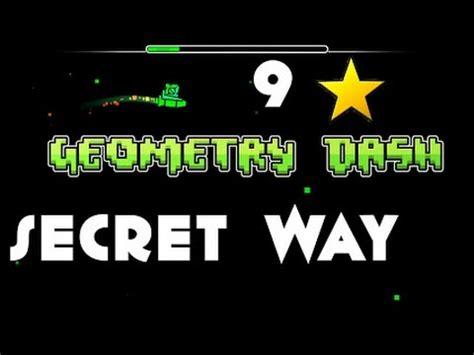 Geometry Dash Secret Way Option Gearx 9 Stars Free
