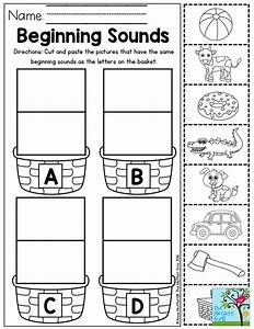 beginning sounds letter sorting perfect for preschool With letter sounds for preschool