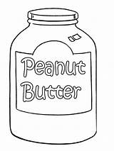 Peanut Coloring Butter Pages Colouring Jelly Sandwich Printable Template Peanuts Jar Drawing Gang Templates Sketch Trending Days Last Getdrawings Popular sketch template