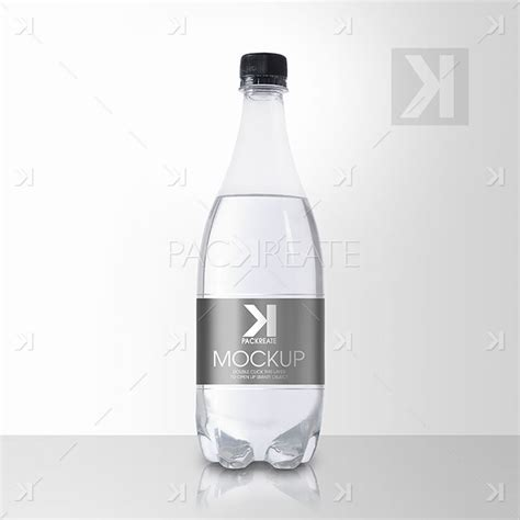 Our clear plastic bottles are available in a large. Packreate » Beverage Clear Plastic Bottle PSD Mockup