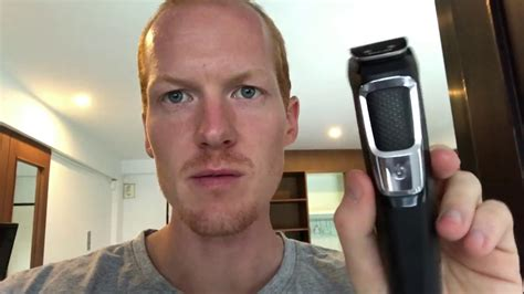 philips norelco multigroom series beard trimmer review youtube