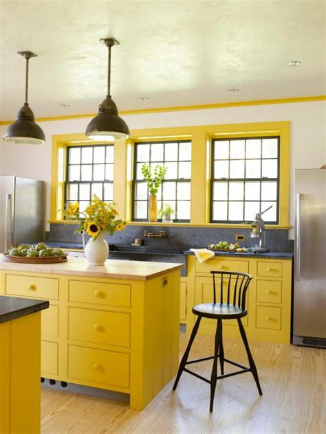 yellow country kitchen rustic meets refined 15 ways to add farmhouse style hgtv 1209
